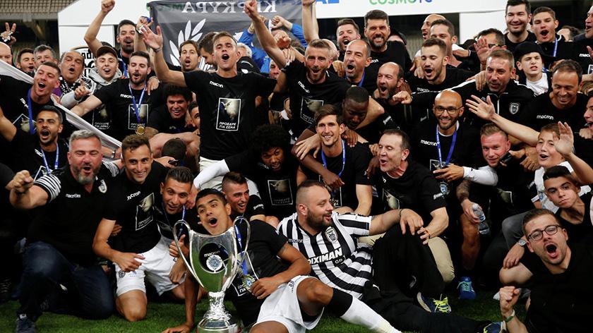 Футболисты АЕКа во второй раз выиграли Кубок Кипра | CypLIVE