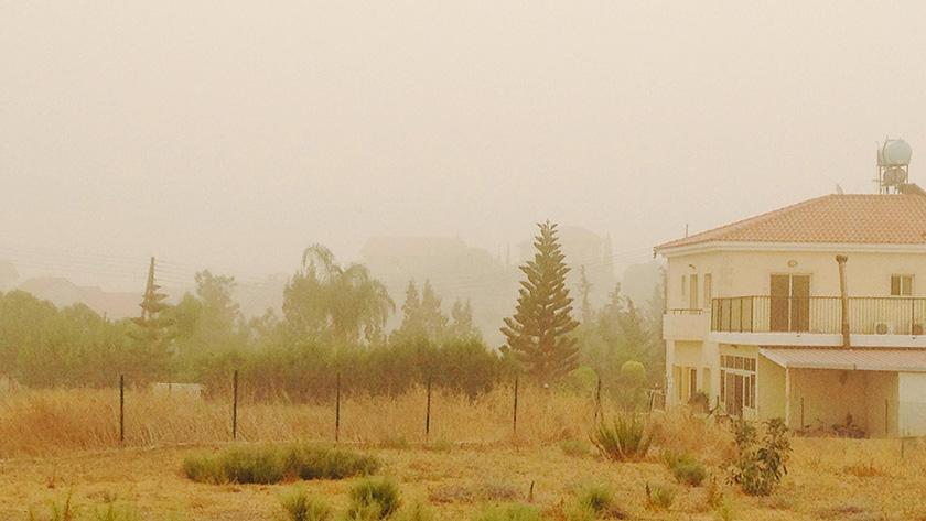 Кипр во власти жары и пыли | CypLIVE