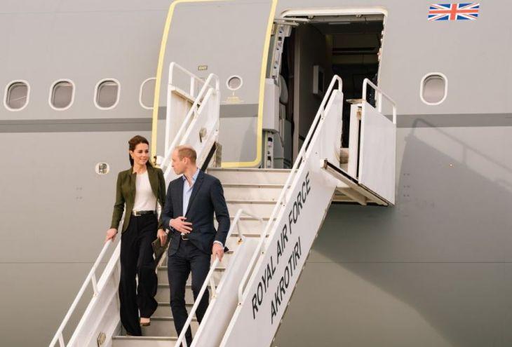 На Кипр прибыли Уильям и Кейт