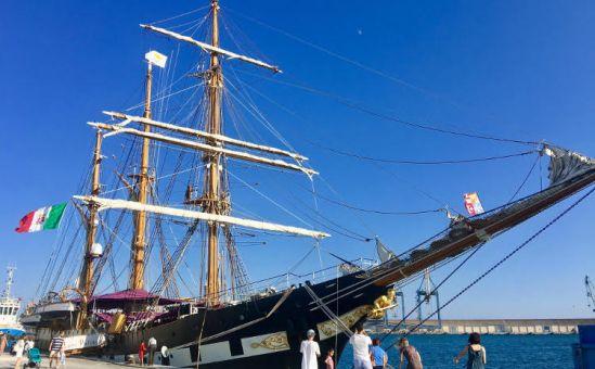 Историческое парусное судно в Ларнаке - Вестник Кипра
