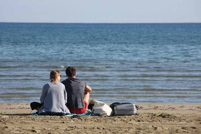 Солнечная погода радует Кипр