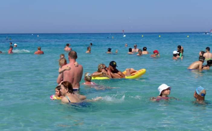 В августе число туристов достигло рекордного уровня