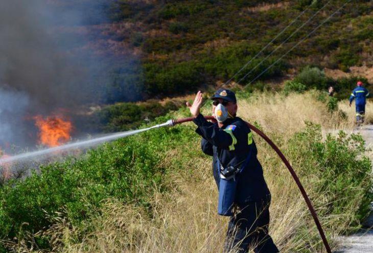 Сильный пожар на Кипре взят под контроль