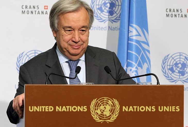 Отчет Совета Безопасности ООН по Кипру будет представлен сегодня
