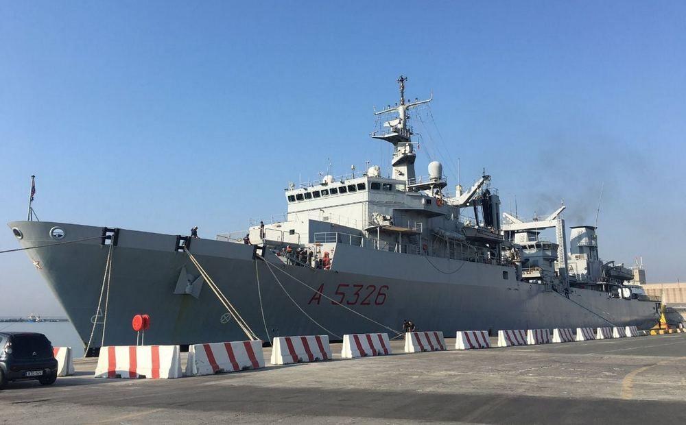 В порт Лимассола прибыла «Этна» - Вестник Кипра