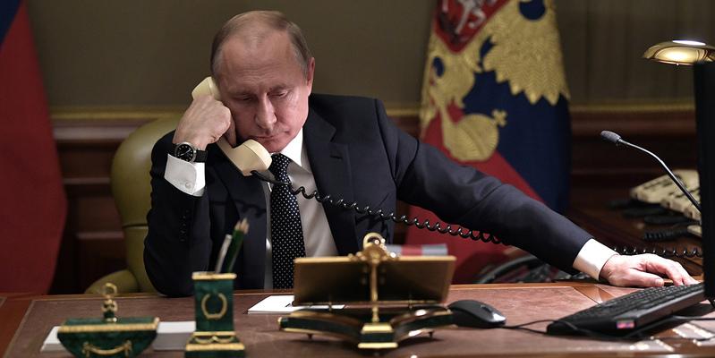 Анастасиадис 45 минут проговорил по телефону с Путиным об Эрдогане