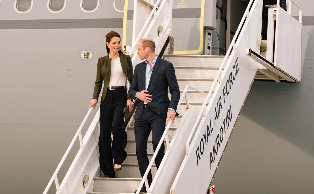 Принц Уильям и Кейт Миддлтон посетили Кипр - Вестник Кипра