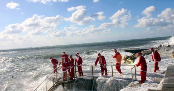 «Моржи» из Пафоса отметили Новый Год в море (фото)