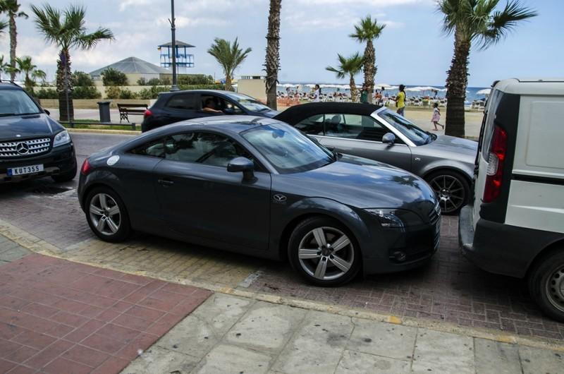 На Кипре растёт количество автомобилей