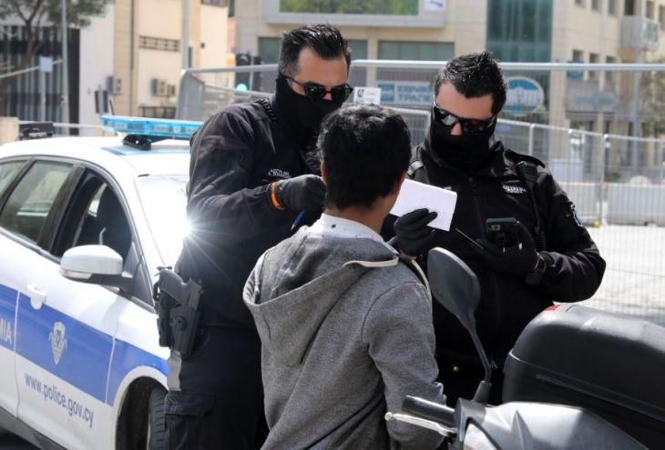 Комендантский час на Кипре: выписаны 322 повестки в суд