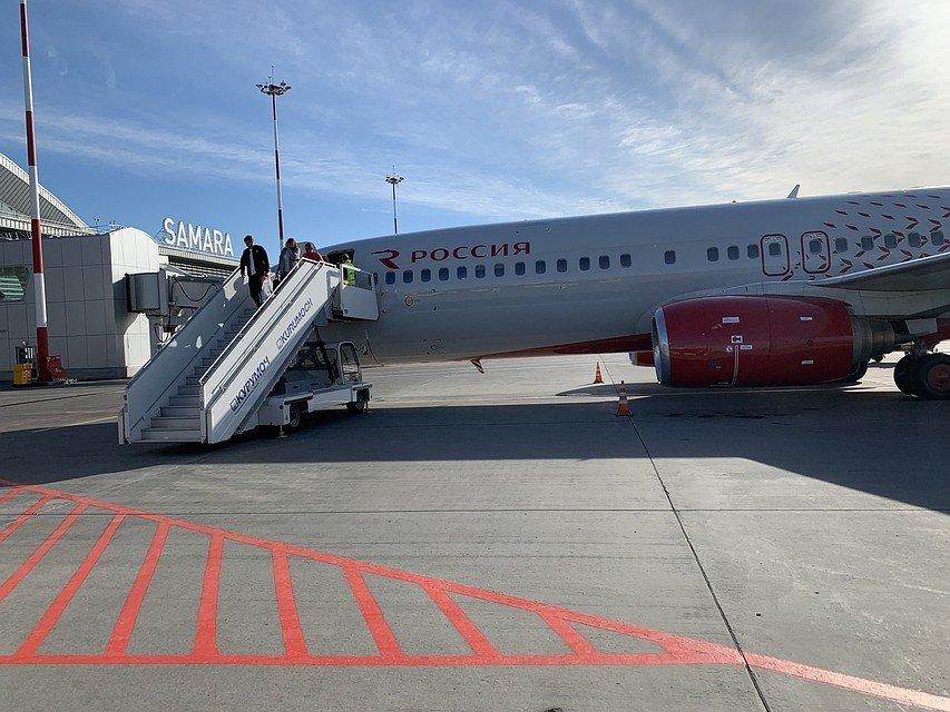 Самолет рейса «Ларнака — Самара» экстренно сел в Краснодаре