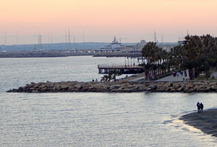 Кипр в середине января: жемчужную пыль смоют холодные дожди