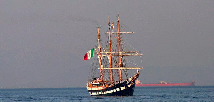 Итальянский парусник завтра покинет Кипр | CypLIVE
