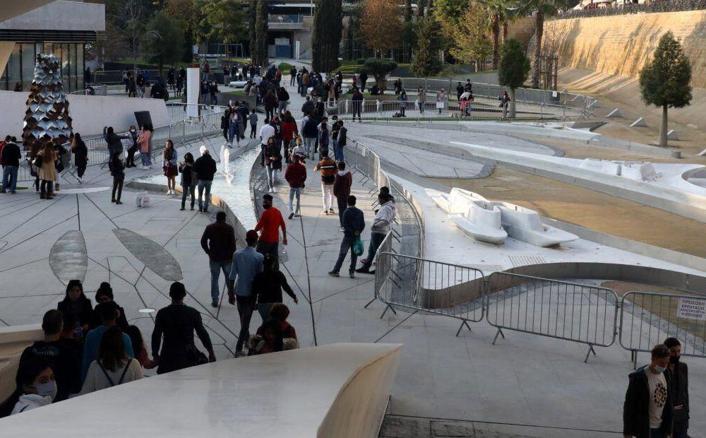 Вестник Кипра - В Никосии открыли ров под Площадью свободы