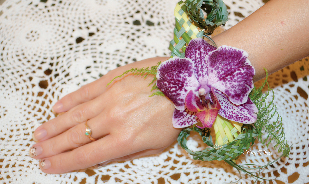 Свадебное вдохновение: цветочный браслет - Вестник Кипра