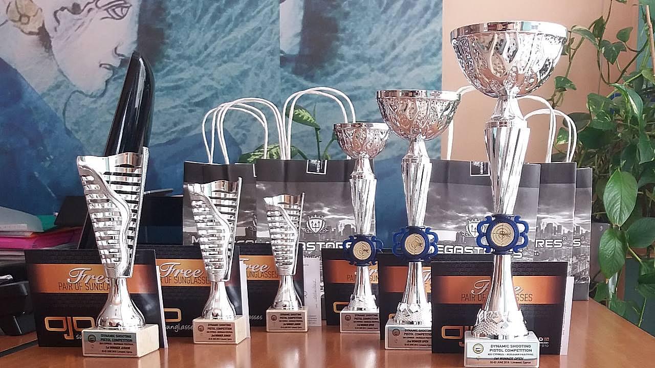 Награждены призеры соревнований по динамической стрельбе - Вестник Кипра